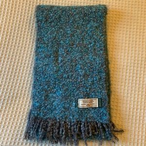 Mucros Weavers mohair blend scarf